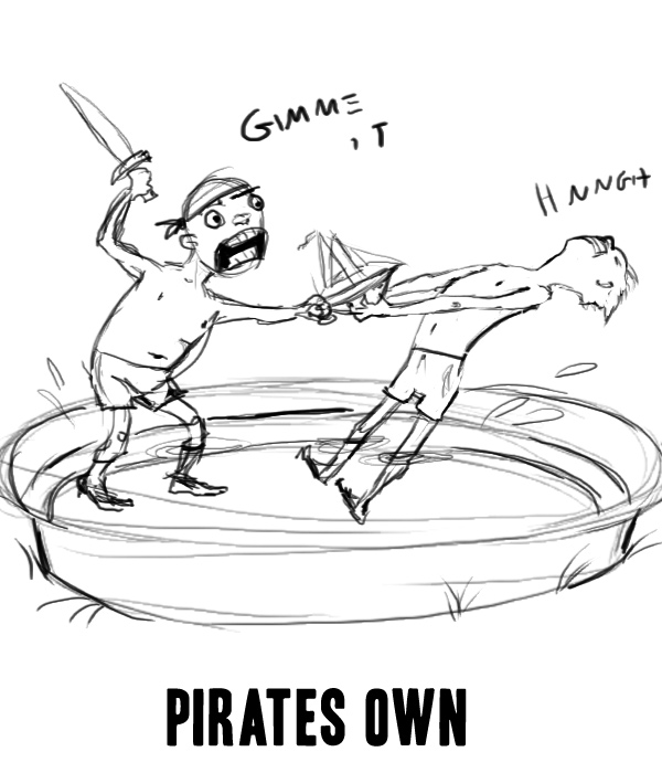 PIRATES OWN