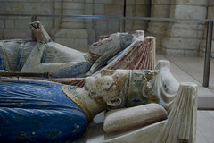 Fontevraud Henry II and Eleanor