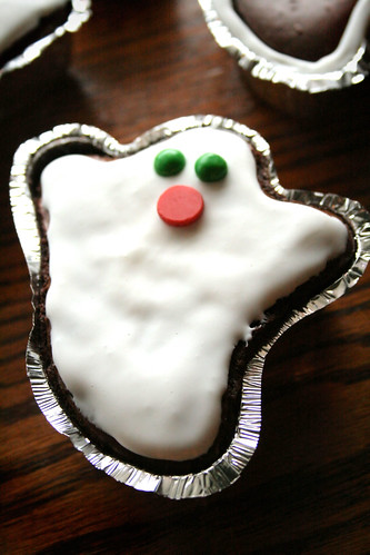 Ghost Brownies.