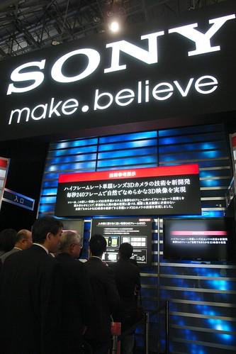 "Sony ""240fps 3D camera"" demo!"