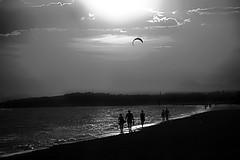 efemérides  - ἐφημερίς (Color-de-la-vida) Tags: sunset bw silhouettes calafell bn siluetas colordelavida