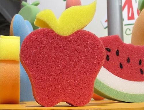 sponge apple