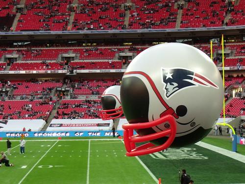 NE Patriots Helmet
