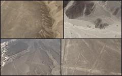 Nazca Lines (Canadian Veggie) Tags: peru spider hummingbird astronaut nazcalines nazca landingstrip