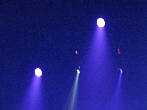 Blue Concert Lights
