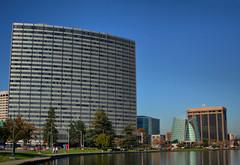 Oakland Buildings Mild HDR