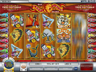 5 Reel Circus slot game online review