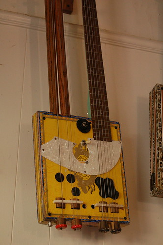 Double-necked Lowebow Guitar