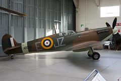 G-AIST - AR213 - WASP 20 2 - Private - Supermarine 300 Spitfire IA - Duxford - 091108 - Steven Gray - IMG_4118