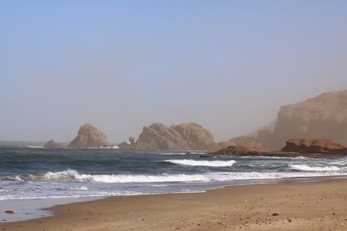 Legzira Beach, north of Sidi Ifni
