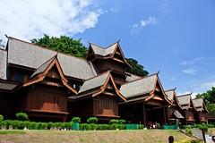 "Sultan of Melaka's palace <a style=""margin-left:10px; font-size:0.8em;"" href=""http://www.flickr.com/photos/25974993@N00/4106418210/"" target=""_blank"">@flickr</a>"