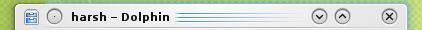 KDE 4.3 Title-bars