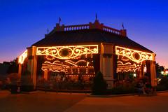 Dorney Park Carousel (Gary Burke.) Tags: vacation night canon eos rebel evening ride pennsylvania carousel pa amusementpark dslr merrygoround themepark allentown lehighvalley dorneypark attraction garyburke klingon65 t1i canoneosrebelt1i