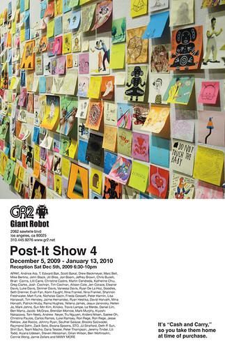 GR Post-It Show!