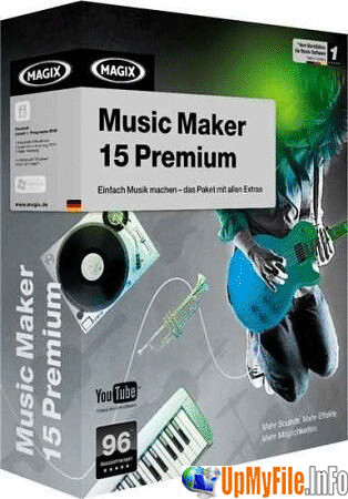 MAGiX Music Maker 15.0.1.8 Premium with Content Pack 01