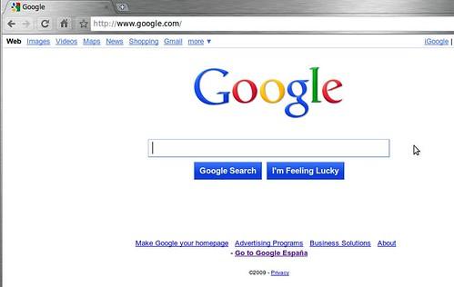 Nuevo diseño de Google.com. Pruébalo