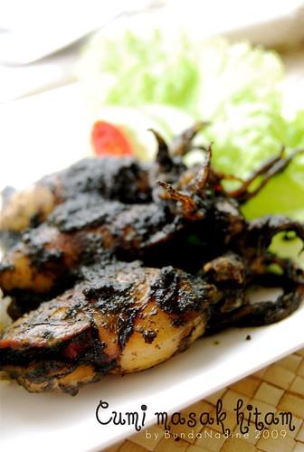 Cumi masak hitam