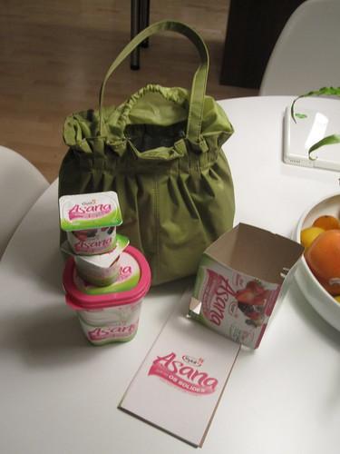 Yoplait Asana Yogourt Tasting pack - free
