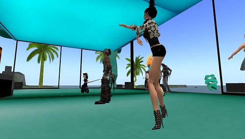 raftwet at dj qwark allen party