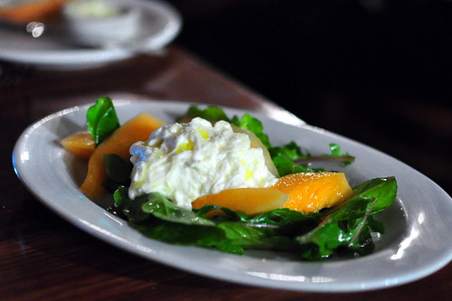 BURRATA AND MELON SALAD