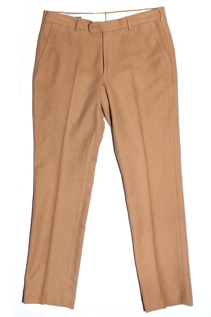 Epaulet Slim Walt Moleskin Trousers