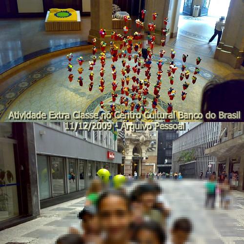 Atividade Extra Classe Centro Cultural BB - 11/12/2009