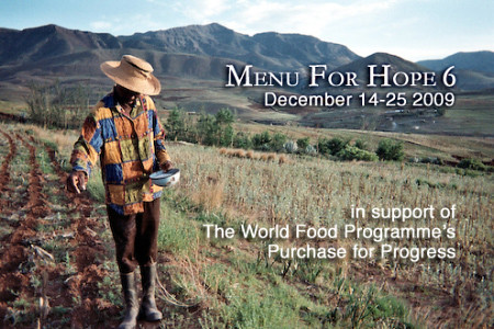 Menu for Hope 6 3