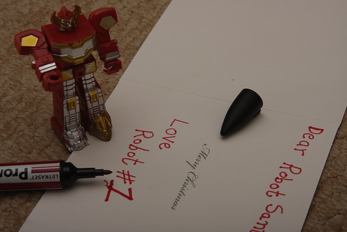349/365 - Dear Robot Santa