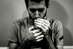 (Sofia Ajram) Tags: boy hands montreal f14 smoking cigarettes greyscale davidalexander nikond80 sofiaajram miumachi