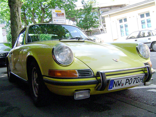 1970 Porsche 911 T Coupe by Ma-Eh. Equipped with Sportomatic transmission.