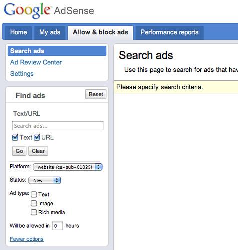 AdSense Search Ads