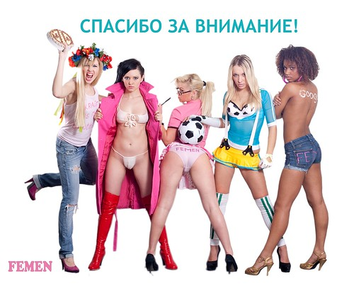 FEMEN: Thank you for your attention!