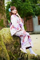 (swanky) Tags: portrait people woman cute girl beauty canon asian eos model asia pretty taiwan babe kimono  tami  2009 taiwanese     5dmarkii 5d2 5dmark2
