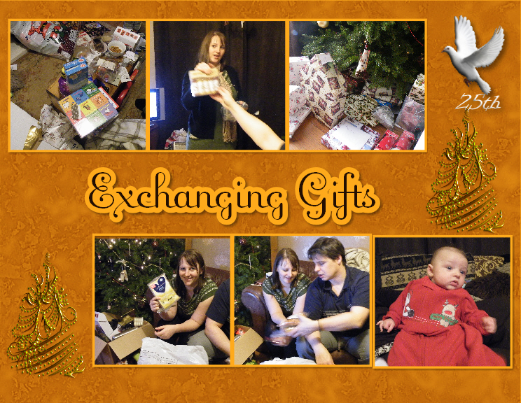 25th Exchanging Gifts