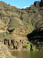Gran Canaria - Presa de Ayagaures & surroundings