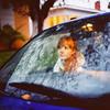Lauren Randolph (laurenlemon) Tags: morning reflection 6x6 film car rolleiflex sunrise mediumformat caitlin early westhollywood weho ourneighborhood kodakportra160nc laurenrandolph caitlinrandolph laurenlemon movingthecarforstreetsweeping wwwphotolaurencom