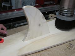 Closeup of fin test (phidauex) Tags: brad greg sam surfboard cncrouter phoenixasylum