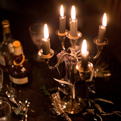 20091231 - 365/365: The End (SteenT) Tags: party 50mm candle newyear 365 project365 steentalmark talmark project1050