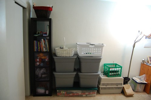 reorganized craft stuff!