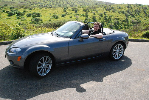 Krystian in the Roadster 1