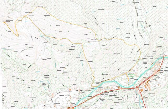 Mapa Oteison y Meate