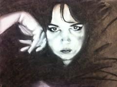 Buttons McTavish for JKPP (rippleberryrazz) Tags: portrait people art female sketch chalk pastel study charcoal jkpp