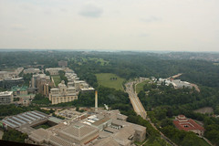 The View from the Cathedral of Learning 36th Floor