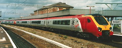 Virgin Cross Country Class 221s 221120 & 221108 - Stockport (dwb transport photos) Tags: virgincrosscountry virgin voyager 221108 221120 stockport