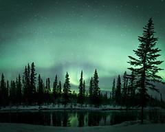 Glow (frostnip907) Tags: auroraborealis northernlights aurora auroras alaska green reflection reflections