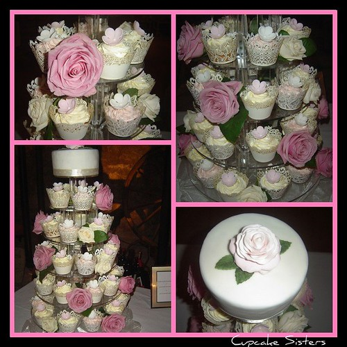 Romantic Wedding in White and Pink