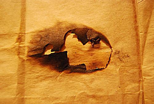 Burnt Paper Texture 04