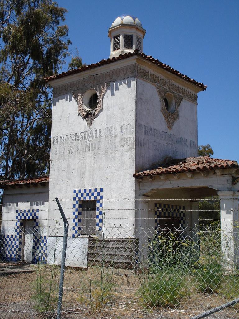 Barnsdall Rio Grande Oil Company Station