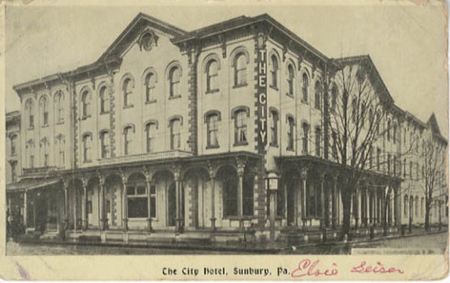 The City Hotel, Sunbury, Pa.