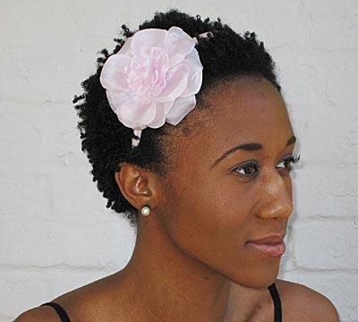 silk gardenia headband